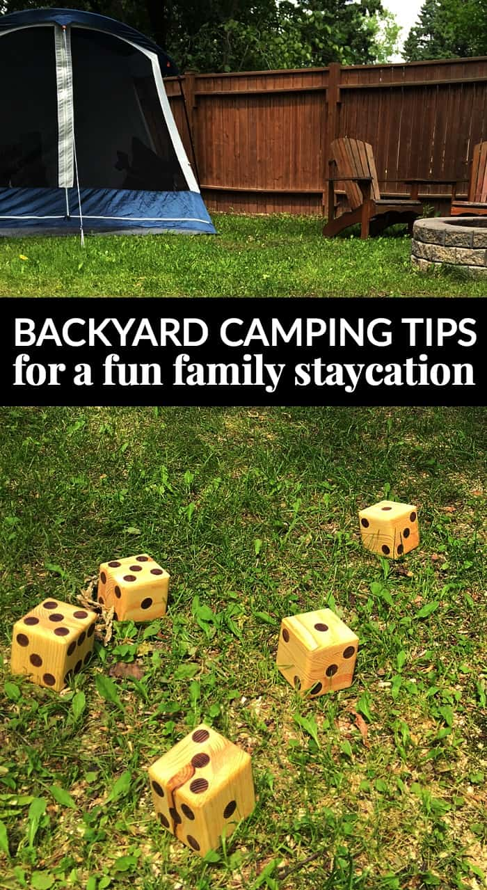 Backyard Camping Tips : BACKYARD CAMPING TIPS FOR A FUN FAMILY STAYCATION #ENERGIZEYOURSUMMER