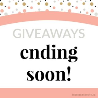 GIVEAWAYS ENDING SOON