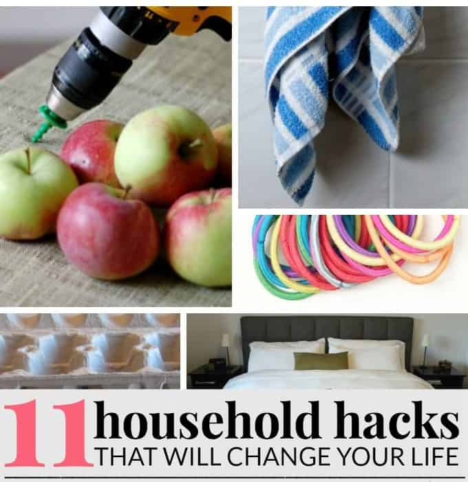 life changing household hacks