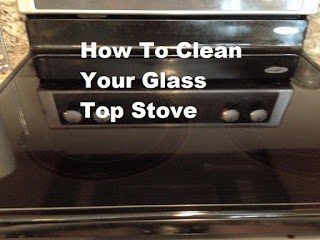 how to clean your glass stove top