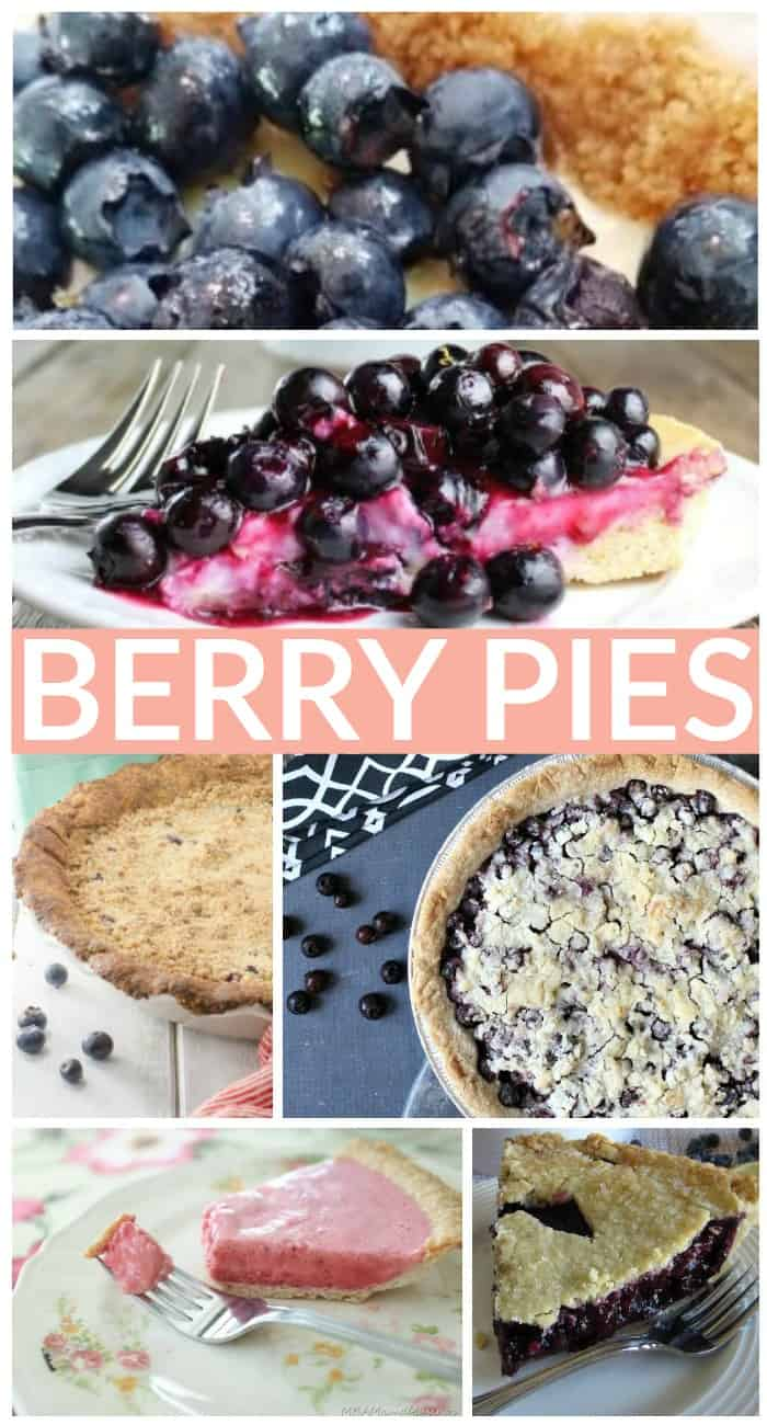 mouthwatering berry pie recipes - saskatoon pies, blueberry pies and raspberry pies. Oh my!
