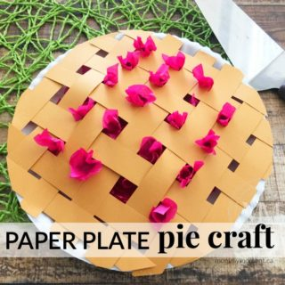 PAPER PLATE PIE CRAFT FOR KIDS