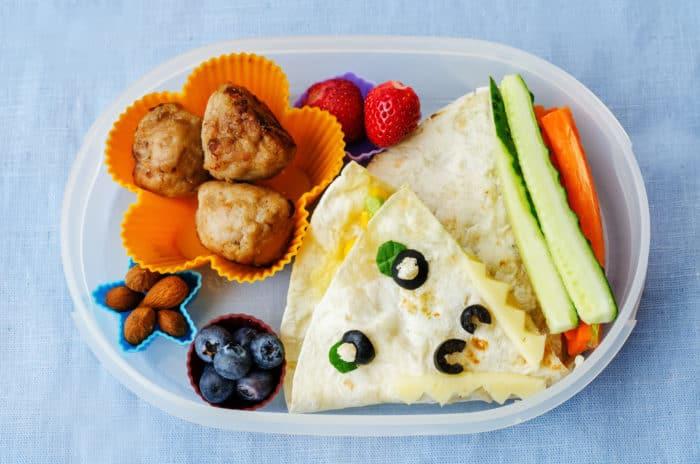 school lunch box idea - no sandwiches