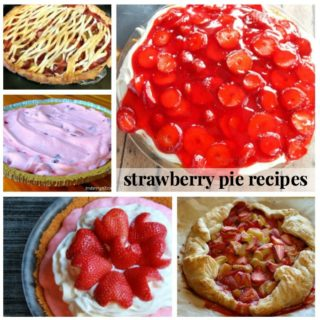 SCRUMPTIOUS STRAWBERRY PIE RECIPES