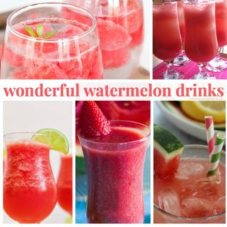 WONDERFUL WATERMELON DRINK RECIPES
