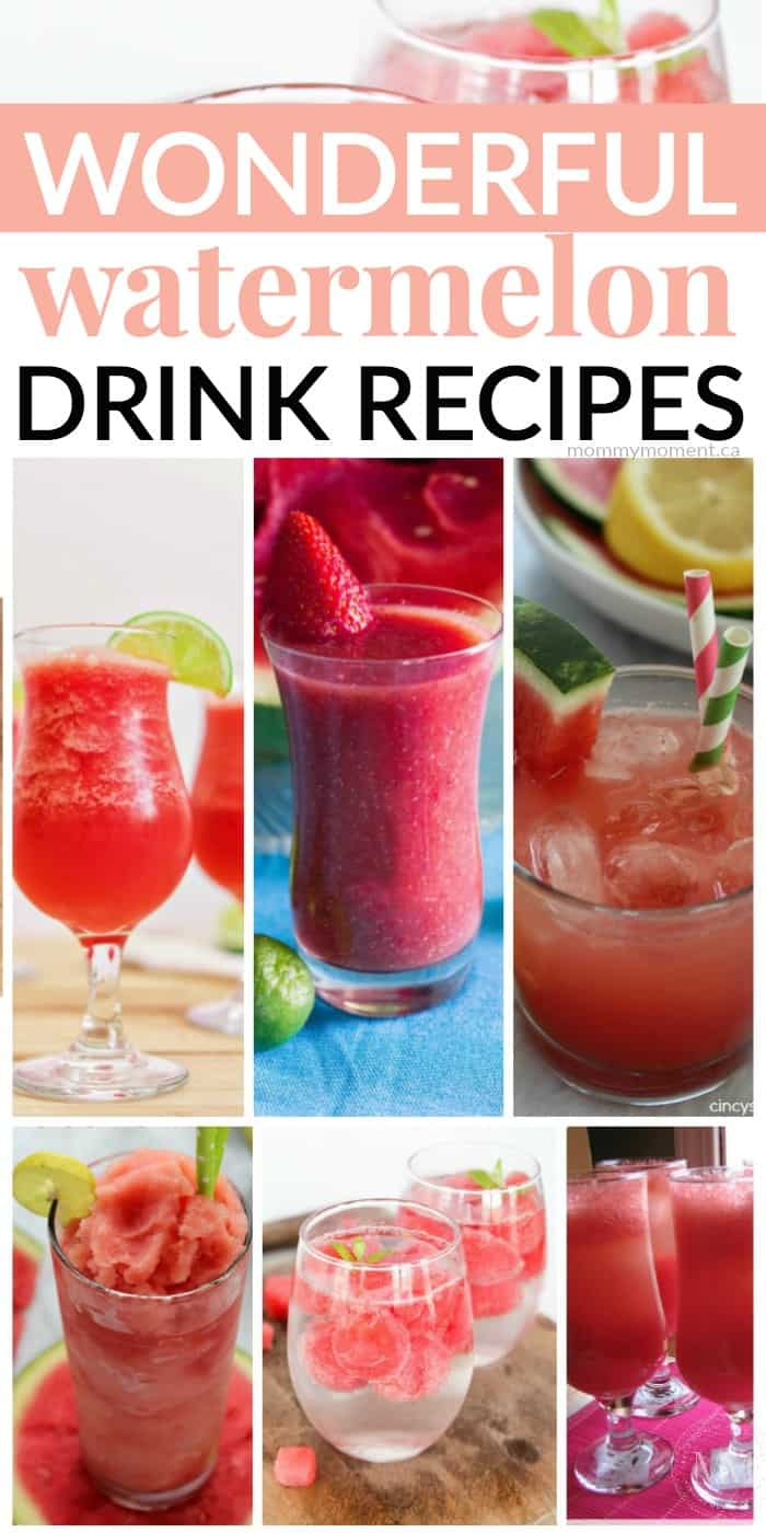 watermelon drink recipes the whole family will love