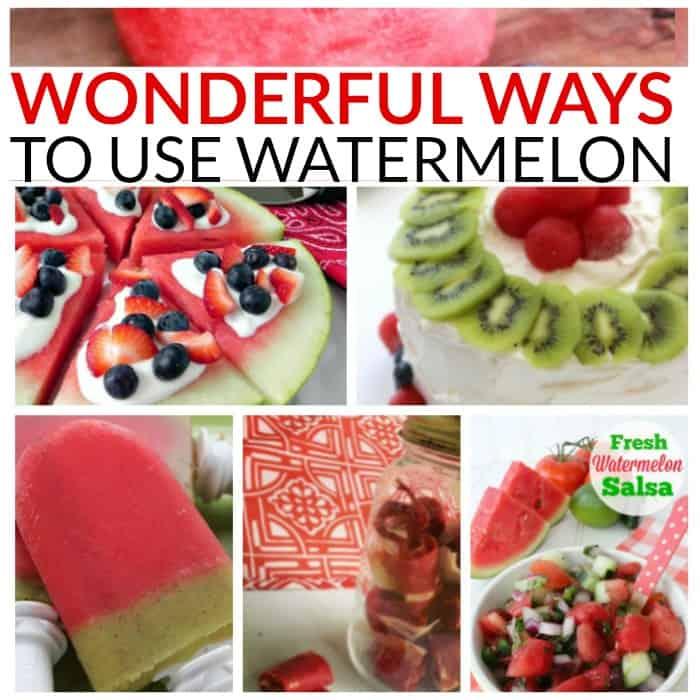 wonderful ways to use watermelon