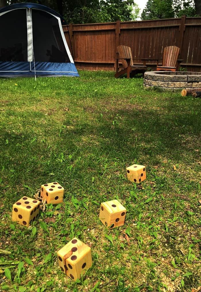 yardzee backyard game