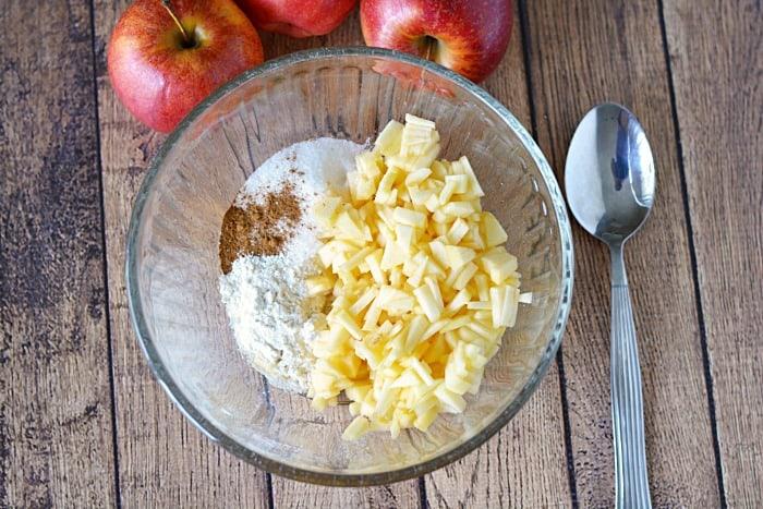 Apple Cinnamon Hand Pie ingredients