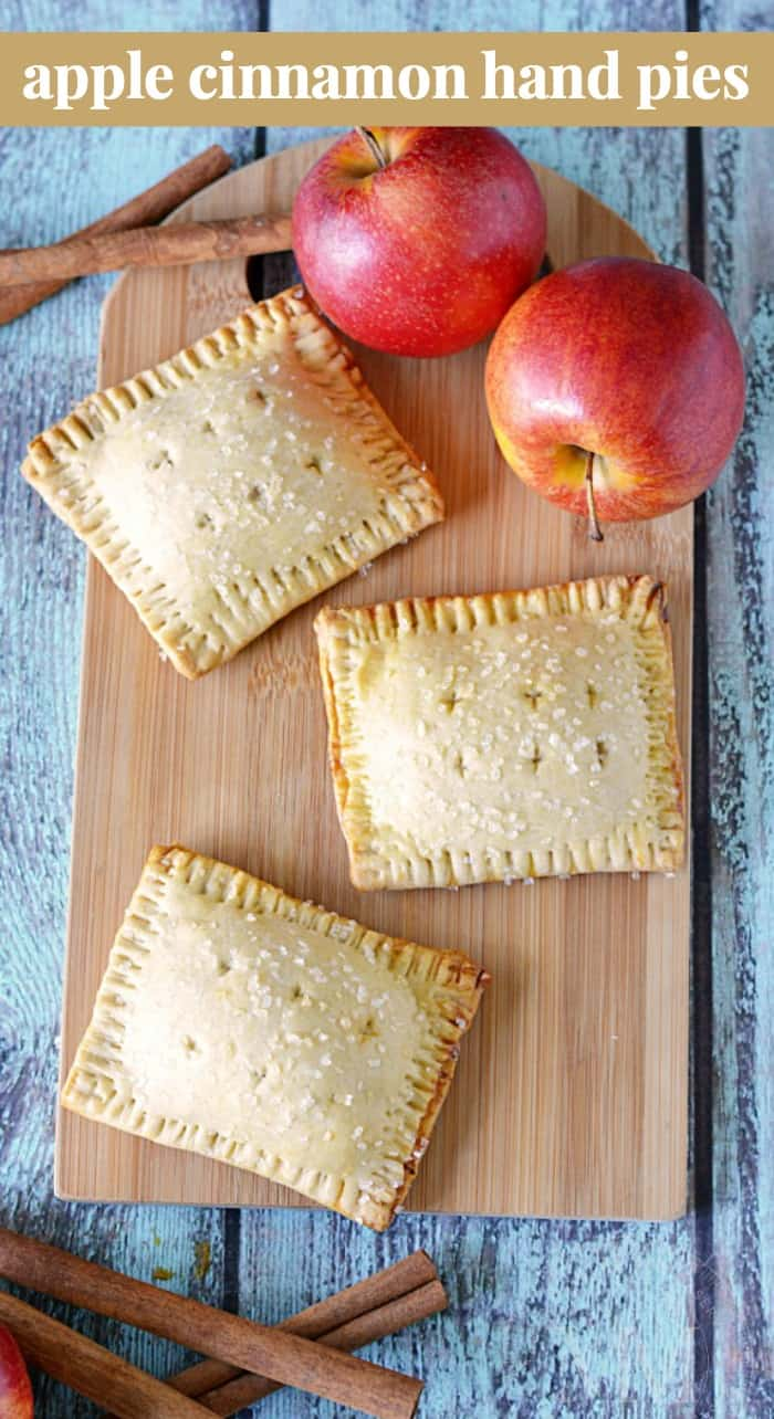Apple Cinnamon Hand Pies Recipe