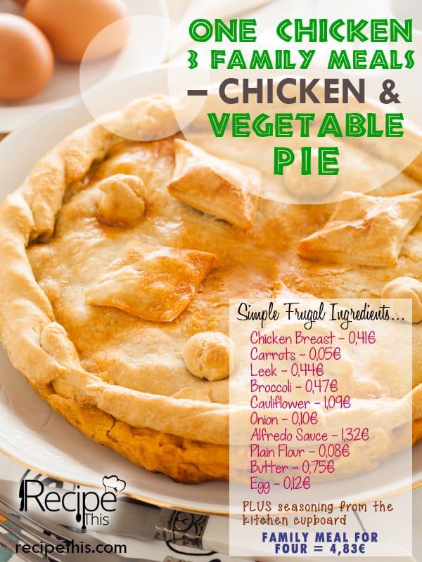 Chicken Vegetable Pie