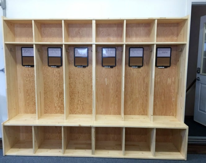 DIY Lockers