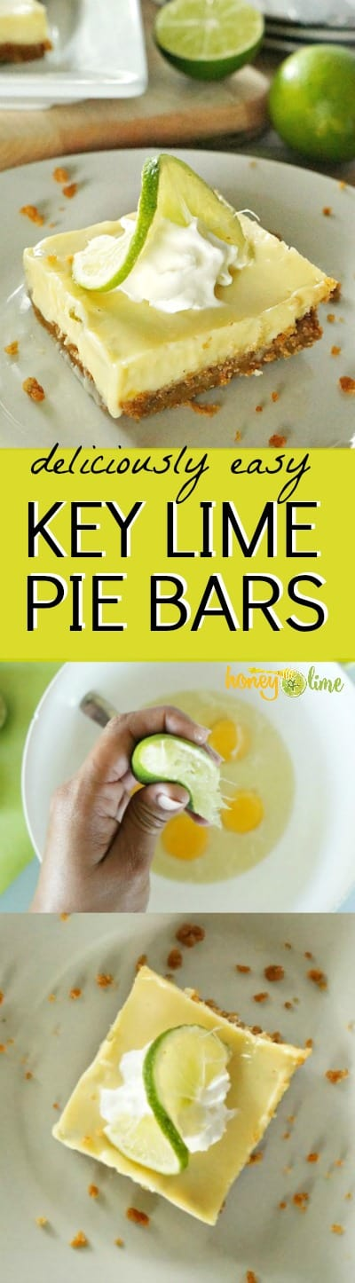 easy key lime pie bars