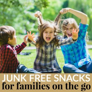 JUNK FREE SNACKS FOR FAMILIES ON THE GO!