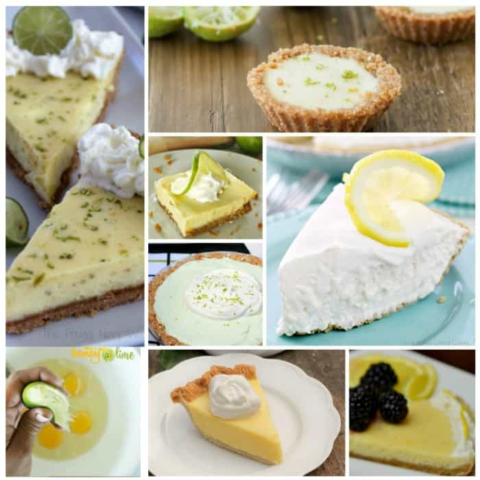 lemon and lime recipes for pies