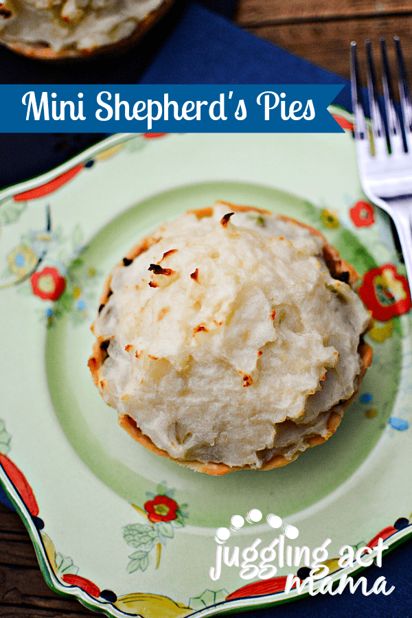 MINI SHEPHERDS PIE – great to keep in the freezer for those busy ...