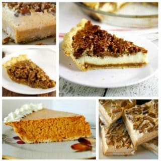 PERFECTLY PLEASING PECAN & PUMPKIN PIES