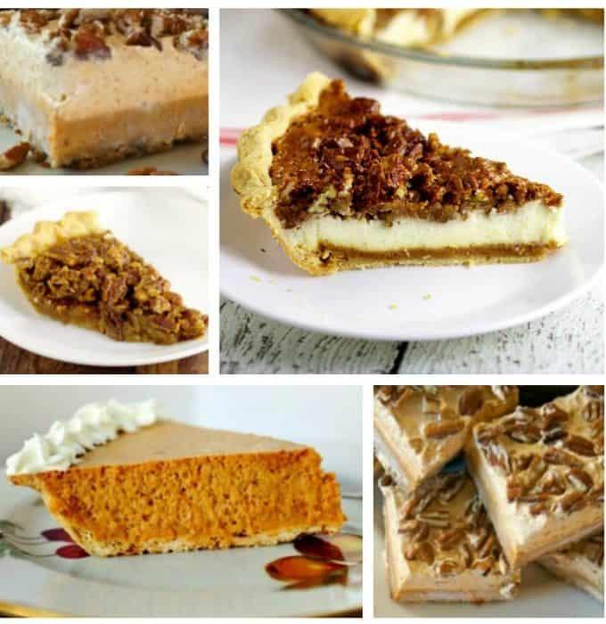 pumpkin-pecan-pies