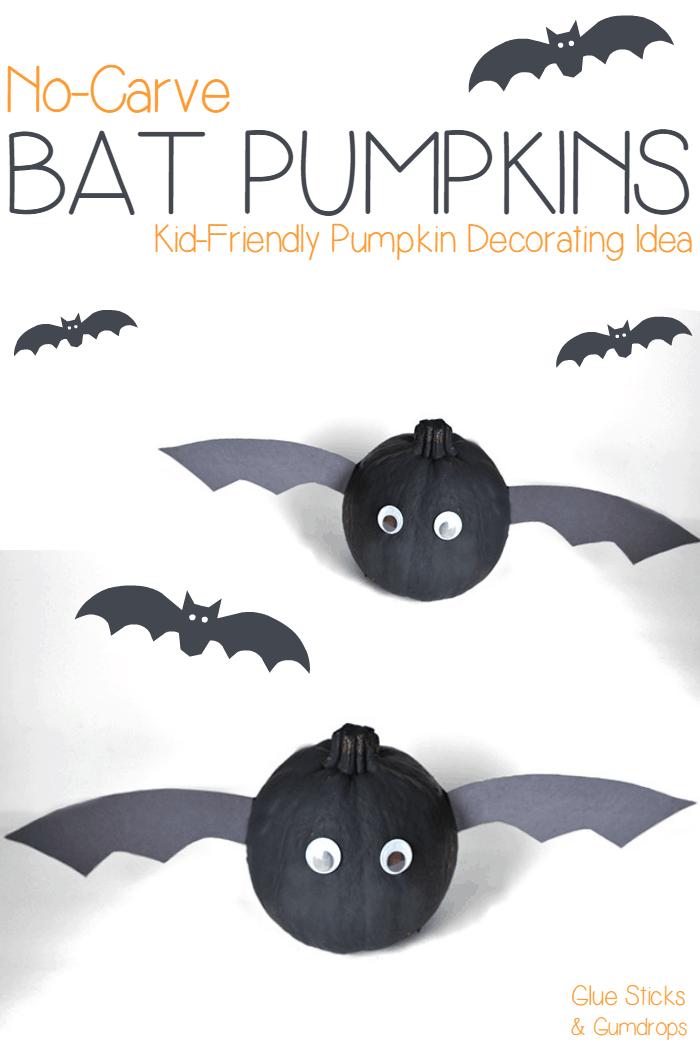 bat-pumpkins-no-carve-jack-o-lantern