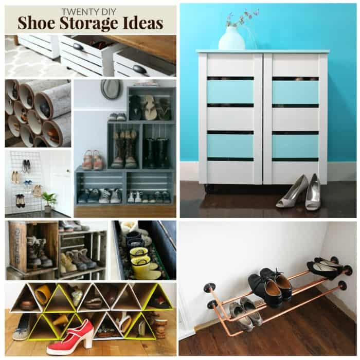 awesome diy shoe storage ideas for your home