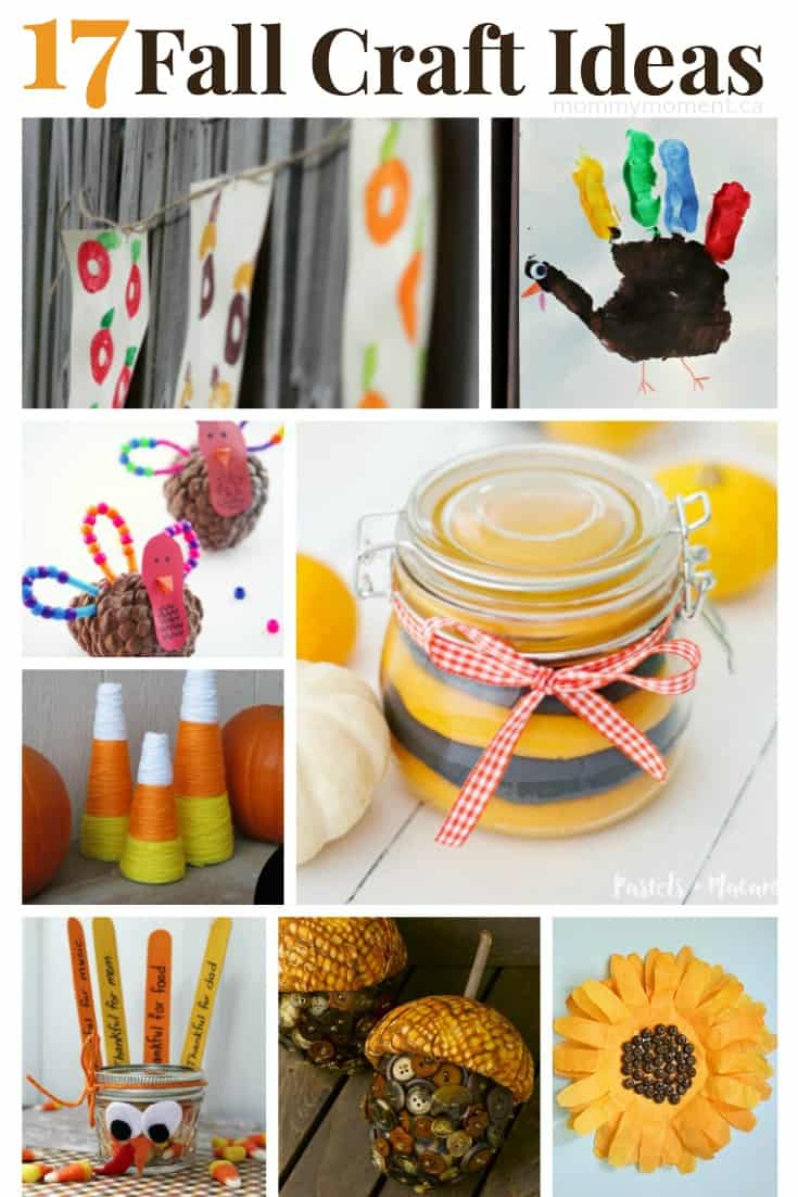 17 Fall Crafts ideas for you and your kids