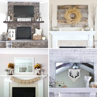 20 STUNNING FALL MANTEL DECOR IDEAS
