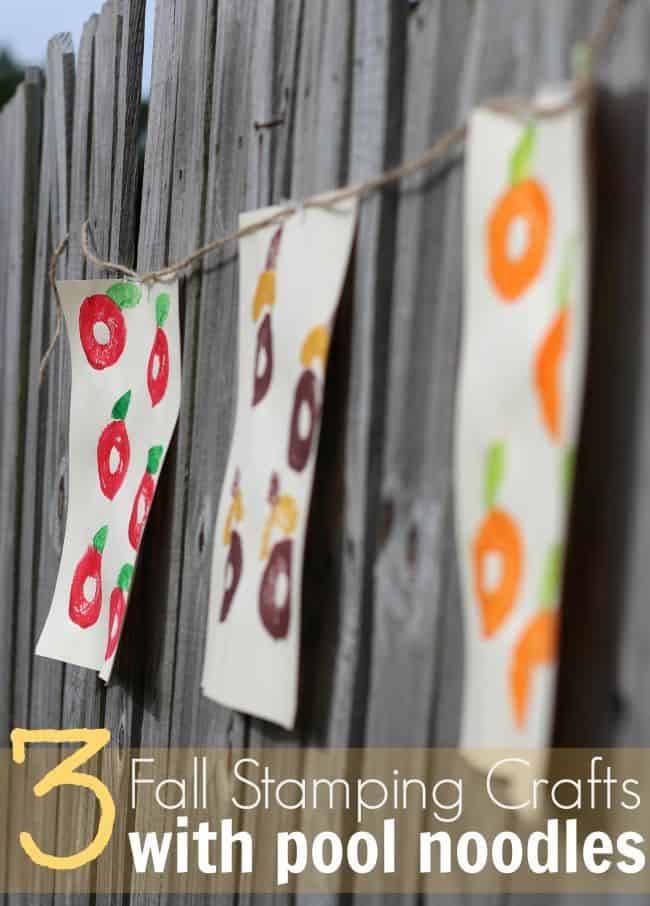 fall-stamping-crafts-with-pool-noodles