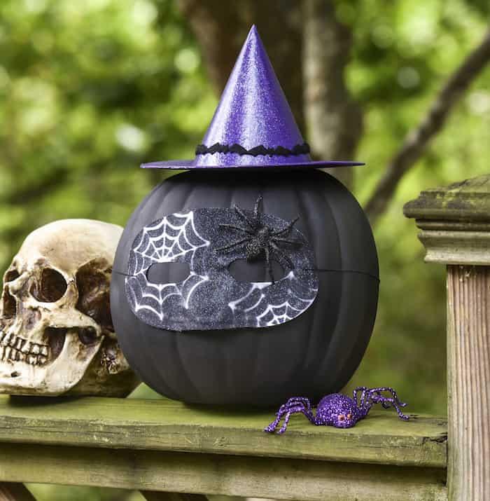 sparkly-witch-pumpkin-craft