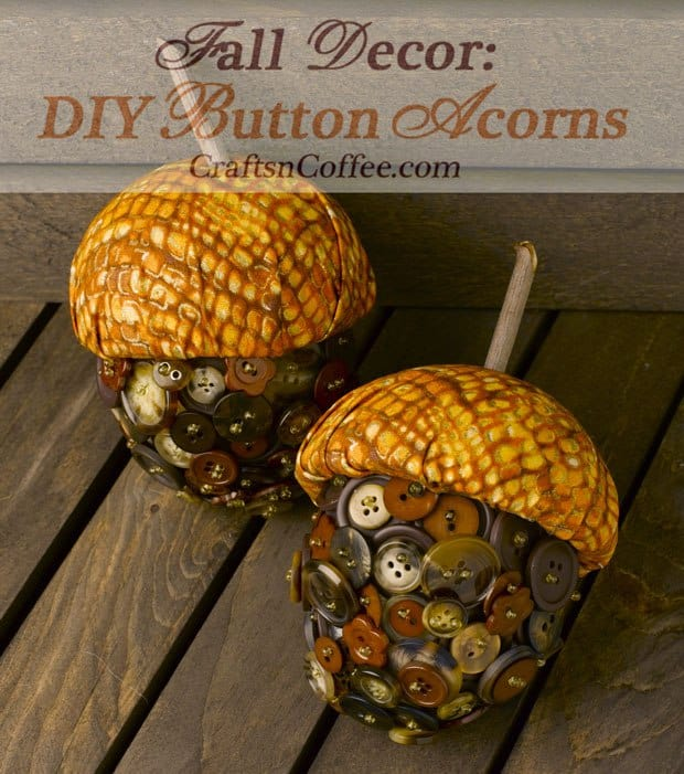 17 fall craft ideas mommy moment for Diy acorn crafts