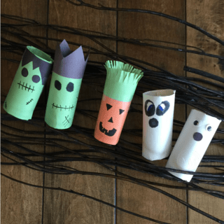 HALLOWEEN TOILET PAPER ROLL CRAFT