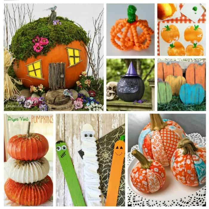 pumpkin craft ideas for Halloween and the Fall season