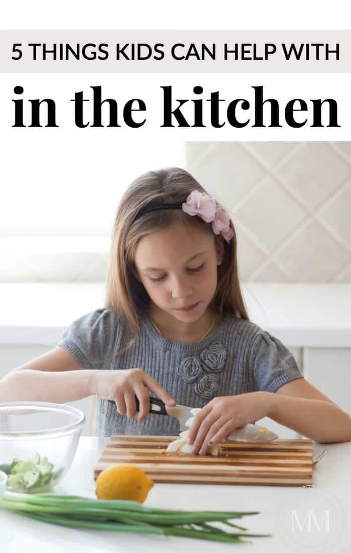 5 things kids can help with in the kitchen