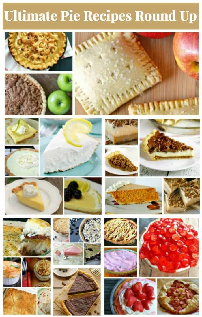 ultimate pie recipes round up