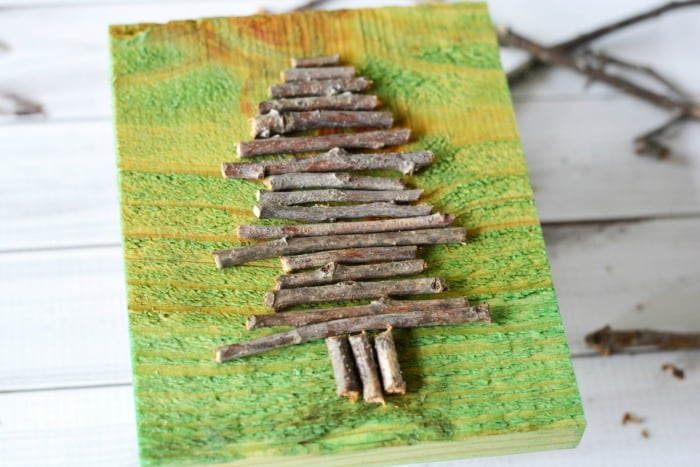 Christmas Twig Tree Craft