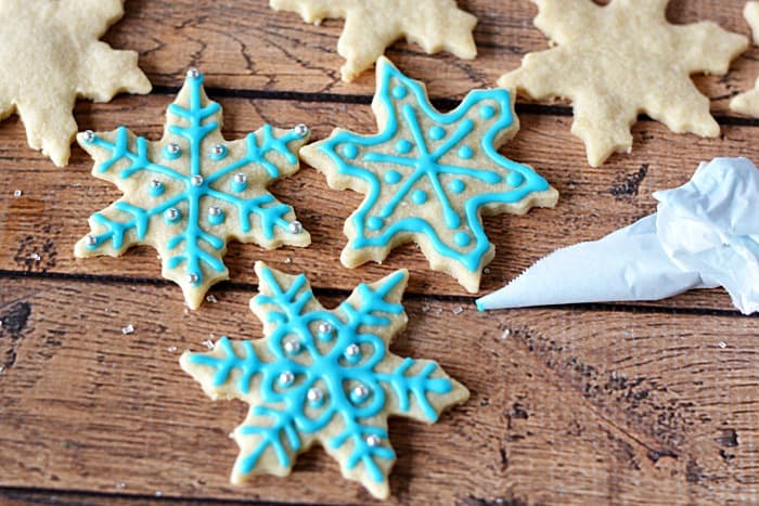 Shortbread cookie icing recipe