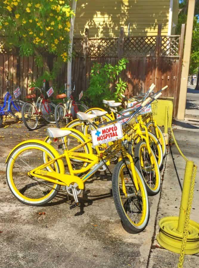 bicycle rental key west