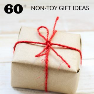 60+ NON TOY GIFT IDEAS FOR CHILDREN