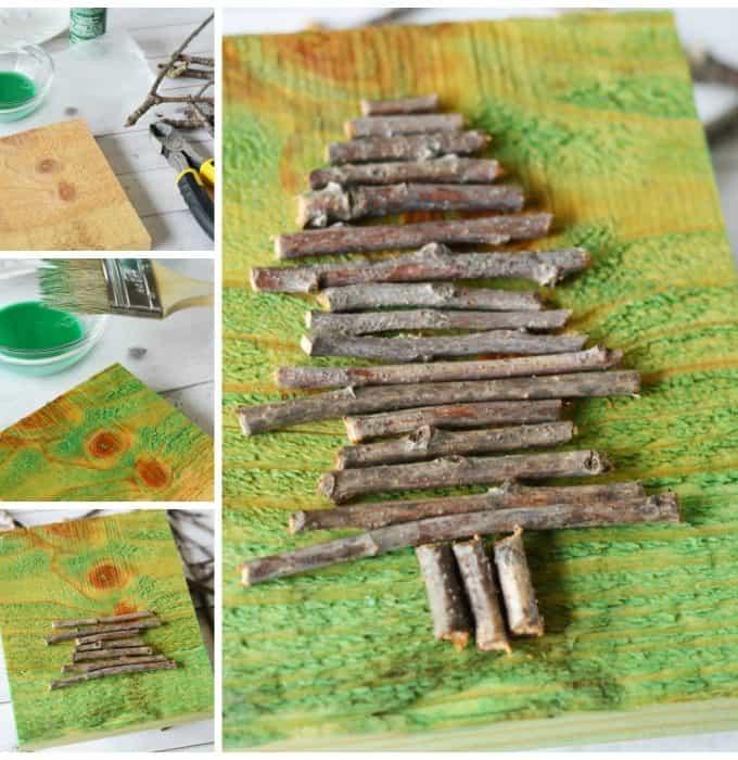 Twig Tree Craft
