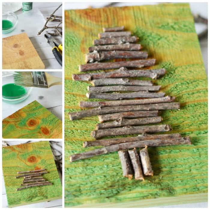 Twig Tree Craft