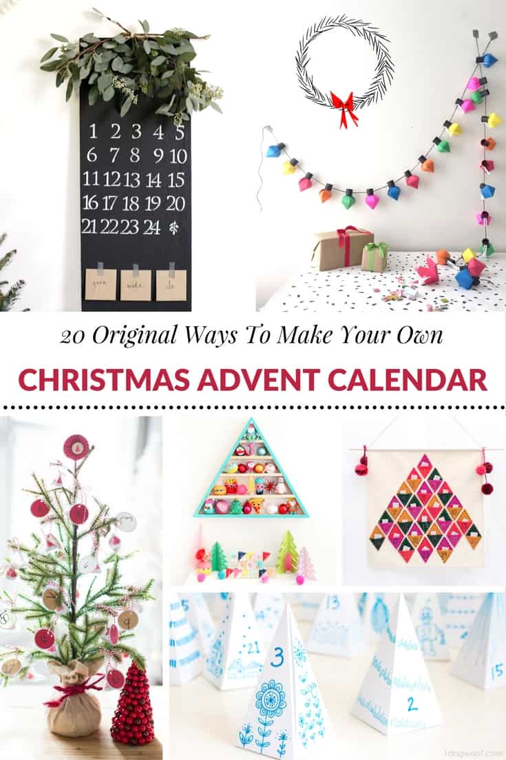 Diy Calendar Christmas : Original ways to make your own christmas advent