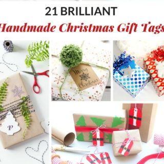 21 BRILLIANT HANDMADE CHRISTMAS GIFT TAGS