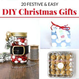 20 FESTIVE AND EASY DIY CHRISTMAS GIFT IDEAS