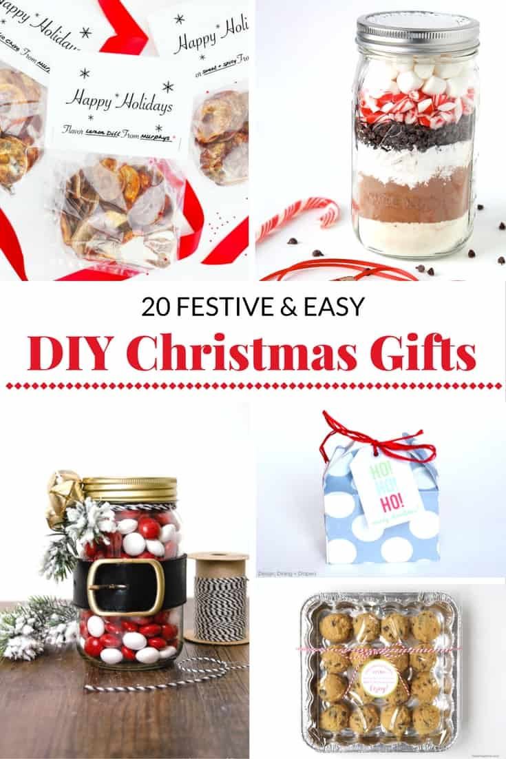 20 festive and easy diy christmas gift ideas