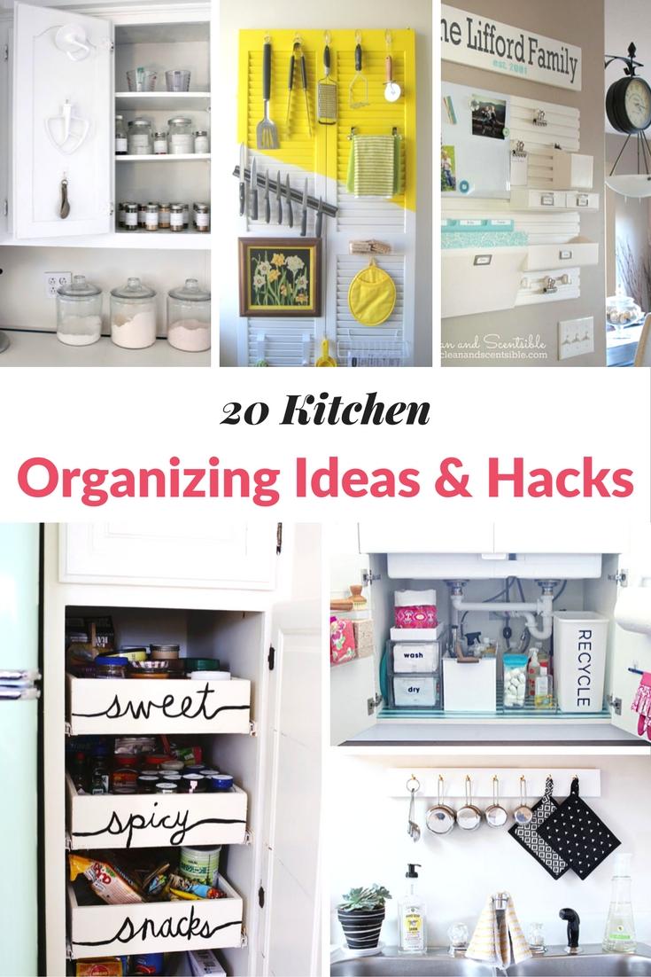 20 KITCHEN ORGANIZING IDEAS & HACKS | Mommy Moment