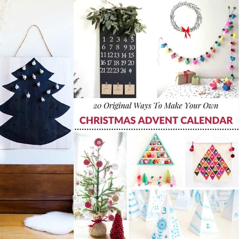 Advent Calendar Design Your Own : Original ways to make your own christmas advent