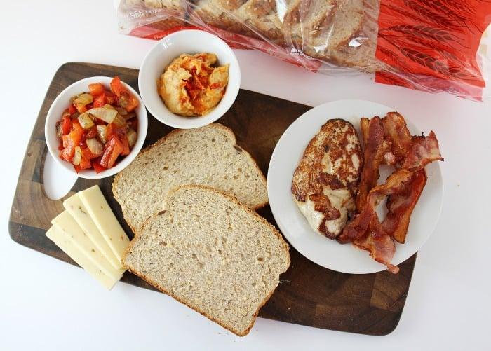 chicken sandwich igredients
