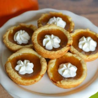 EASY MINI PUMPKIN PIE TART RECIPE