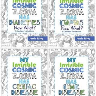 INVISIBLE COSMIC ZEBRA WORKBOOKS #31DaysOfGifts