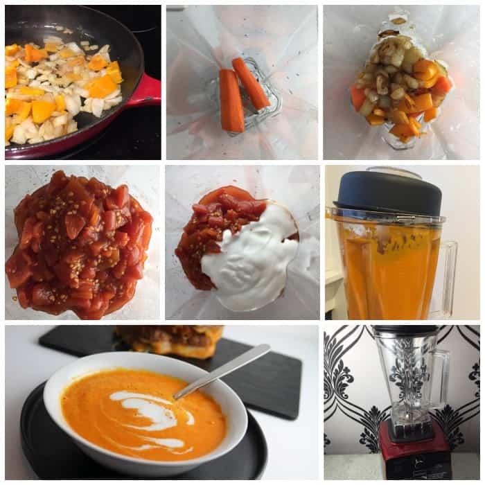 tomato soup blender recipe