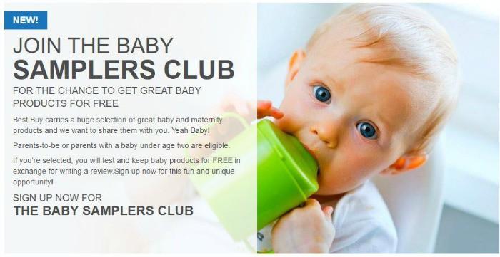 Best Buy Baby Samplers Club